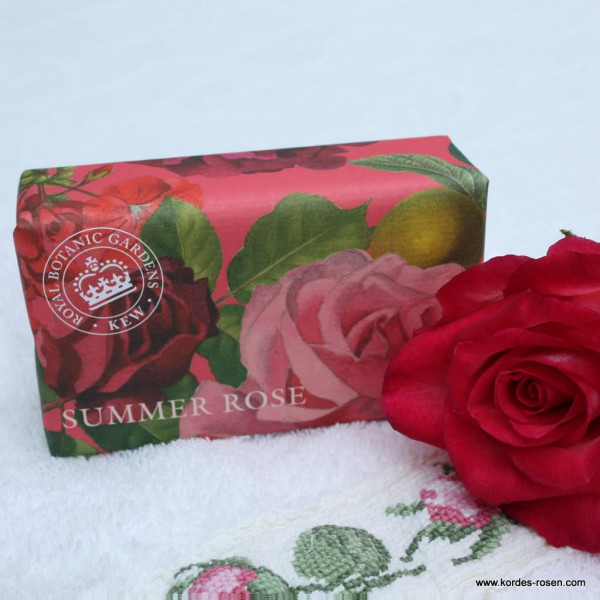 "Artikelbild 1 des Artikels Kew Garden Luxury Soap ""Summer Rose"" - Seife"